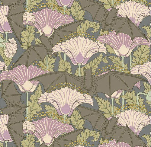 voysey, print, pattern repeat, nature, design, design squish blog